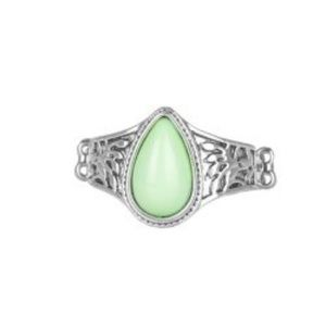 Mint green ring
